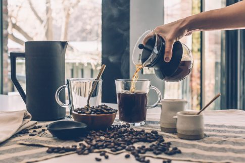 Why French press coffee is bad for you, coffee poured into a cup