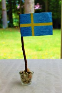 How to make coffee without a filter, the Swedish flag