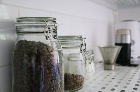 What is red eye coffee, two jars filled with coffee beans