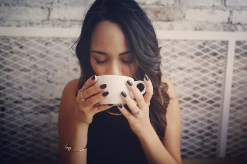 What is red eye coffee, woman drinking coffee