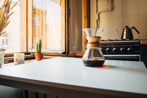 How long do coffee grounds last, pour-over coffee maker