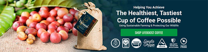 Lifeboost coffee review, best coffee banner