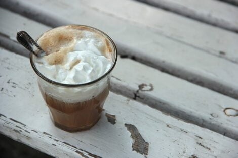 What to do with leftover coffee, frappe