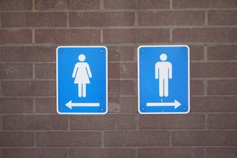 Why does coffee make me sleepy, male and female restroom