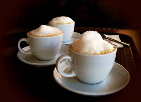 What is a cappuccino, 3 cups of dry cappuccino