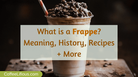 What is a Frappe, thumbnail