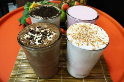 What is a frappe, different milkshakes