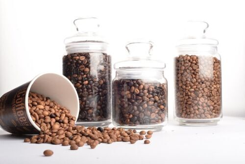 Types of Coffee Roasts, different types of roasts in jars